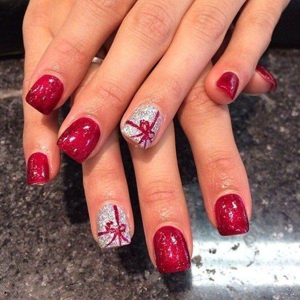 Christmas-Nail-Art-Design-Ideas-2017-16 88+ Hottest Christmas Nail Art Design Ideas 2021