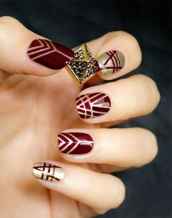 Christmas-Nail-Art-Design-Ideas-2017-20 88 Awesome Christmas Nail Art Design Ideas 2017
