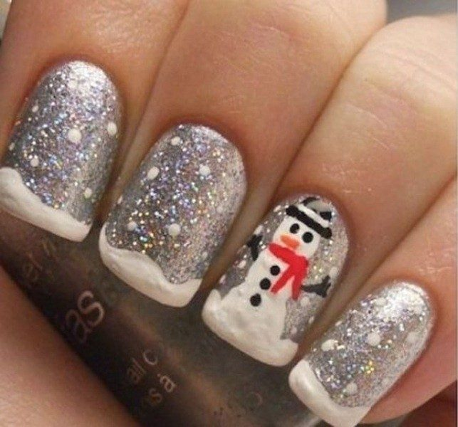 Christmas-Nail-Art-Design-Ideas-2017-21 88 Awesome Christmas Nail Art Design Ideas 2018/2019