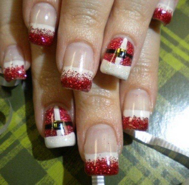 Christmas-Nail-Art-Design-Ideas-2017-23 88 Awesome Christmas Nail Art Design Ideas 2018/2019