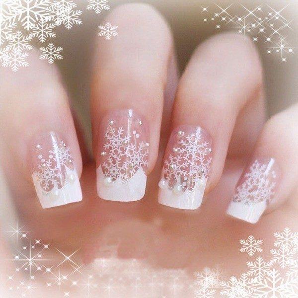 Christmas-Nail-Art-Design-Ideas-2017-26 88+ Hottest Christmas Nail Art Design Ideas 2020