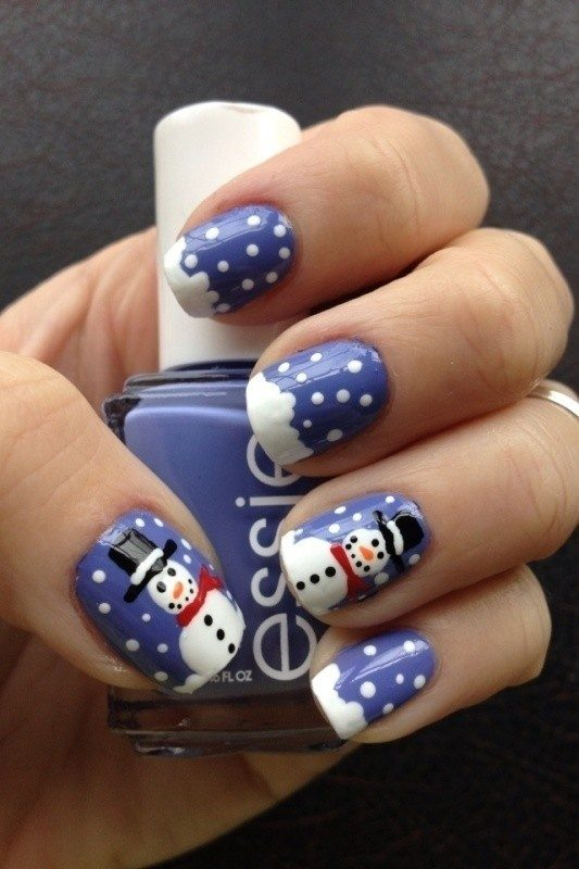 Christmas-Nail-Art-Design-Ideas-2017-28 88 Awesome Christmas Nail Art Design Ideas 2018/2019