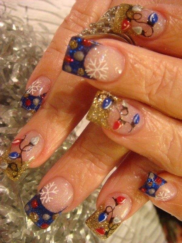 Christmas-Nail-Art-Design-Ideas-2017-4 88 Awesome Christmas Nail Art Design Ideas 2018/2019