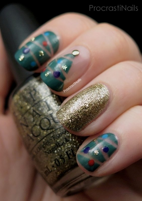 Christmas-Nail-Art-Design-Ideas-2017-40 88 Awesome Christmas Nail Art Design Ideas 2018/2019