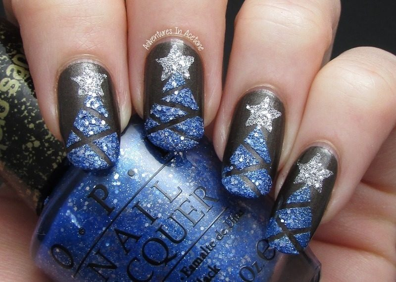 Christmas-Nail-Art-Design-Ideas-2017-42 88 Awesome Christmas Nail Art Design Ideas 2017