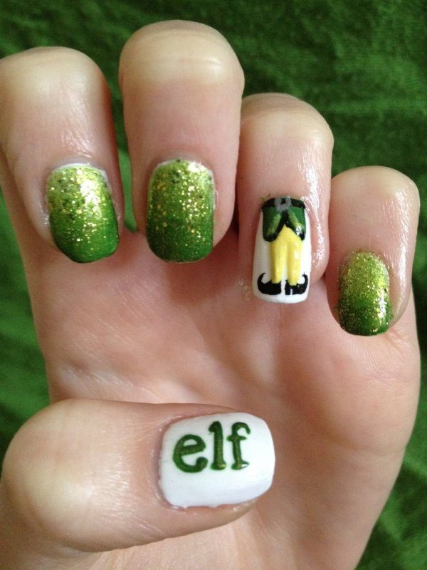 Christmas-Nail-Art-Design-Ideas-2017-48 88 Awesome Christmas Nail Art Design Ideas 2018/2019