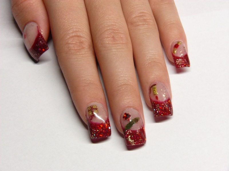 Christmas-Nail-Art-Design-Ideas-2017-49 88 Awesome Christmas Nail Art Design Ideas 2017