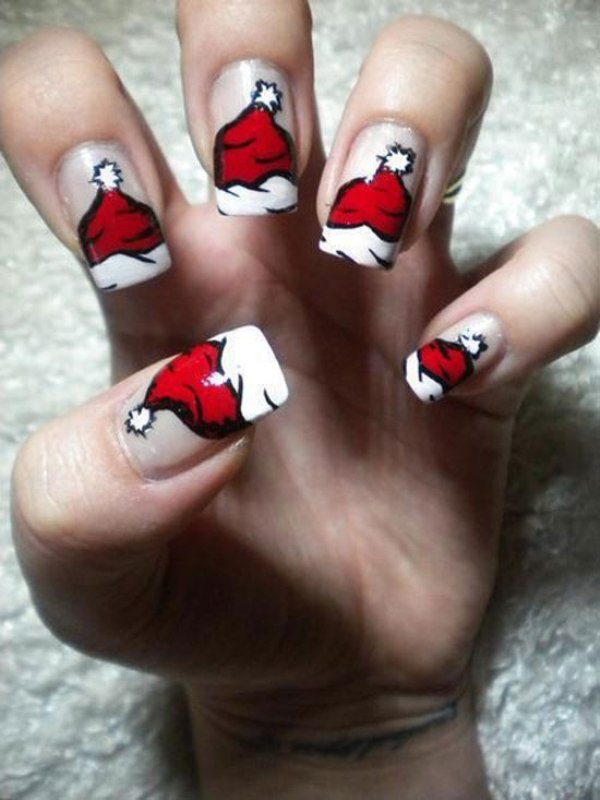 Christmas-Nail-Art-Design-Ideas-2017-51 88 Awesome Christmas Nail Art Design Ideas 2017