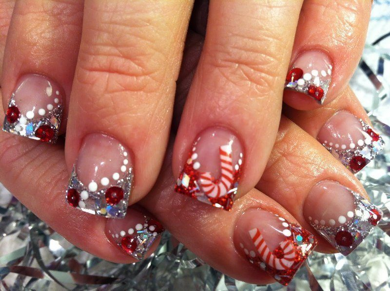 Christmas-Nail-Art-Design-Ideas-2017-52 88 Awesome Christmas Nail Art Design Ideas 2018/2019