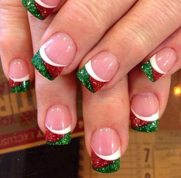 Christmas-Nail-Art-Design-Ideas-2017-53 88 Awesome Christmas Nail Art Design Ideas 2018/2019