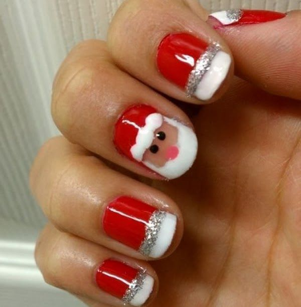 Christmas-Nail-Art-Design-Ideas-2017-54 88 Awesome Christmas Nail Art Design Ideas 2018/2019