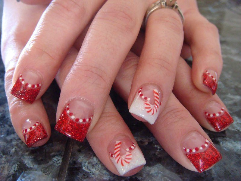 Christmas-Nail-Art-Design-Ideas-2017-56 88 Awesome Christmas Nail Art Design Ideas 2018/2019