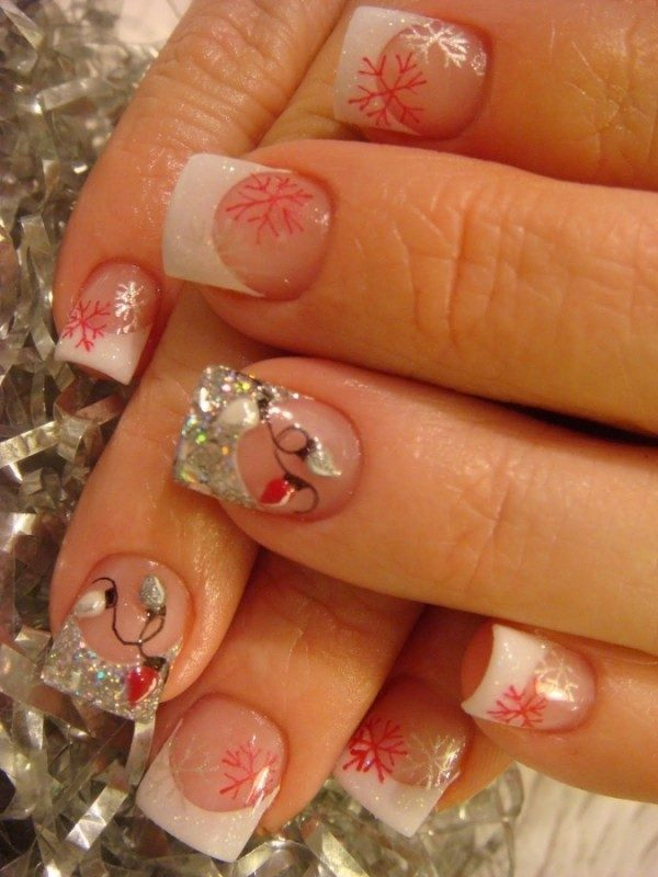 Christmas-Nail-Art-Design-Ideas-2017-6 88 Awesome Christmas Nail Art Design Ideas 2018/2019
