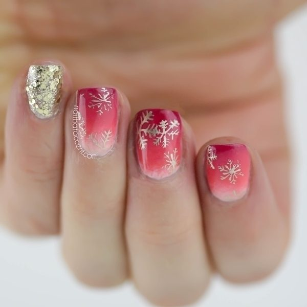 Christmas-Nail-Art-Design-Ideas-2017-60 88 Awesome Christmas Nail Art Design Ideas 2018/2019