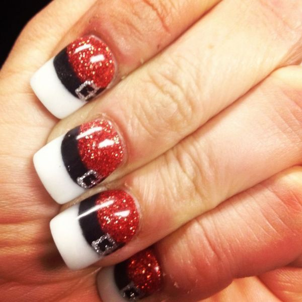 Christmas-Nail-Art-Design-Ideas-2017-65 88 Awesome Christmas Nail Art Design Ideas 2017