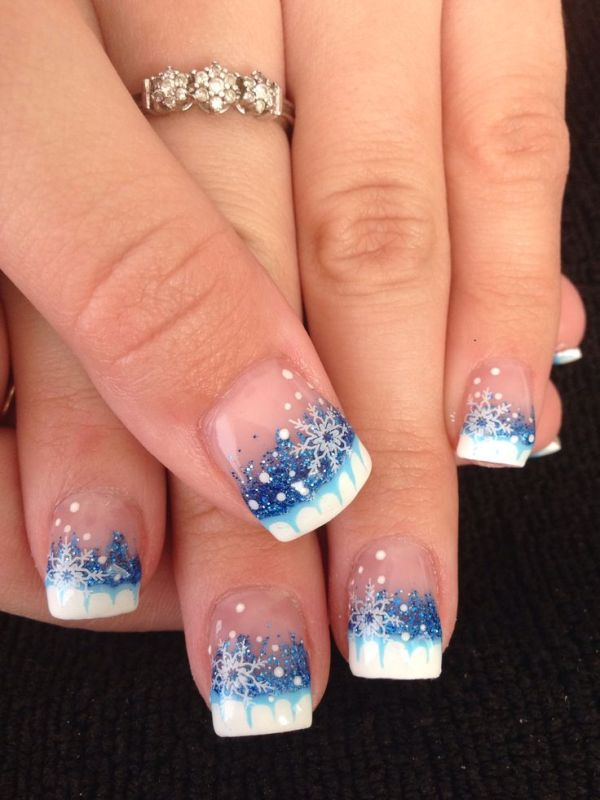 Christmas-Nail-Art-Design-Ideas-2017-72 88 Awesome Christmas Nail Art Design Ideas 2018/2019