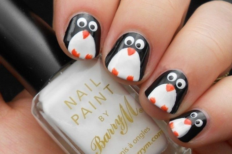 Christmas-Nail-Art-Design-Ideas-2017-8 88 Awesome Christmas Nail Art Design Ideas 2018/2019