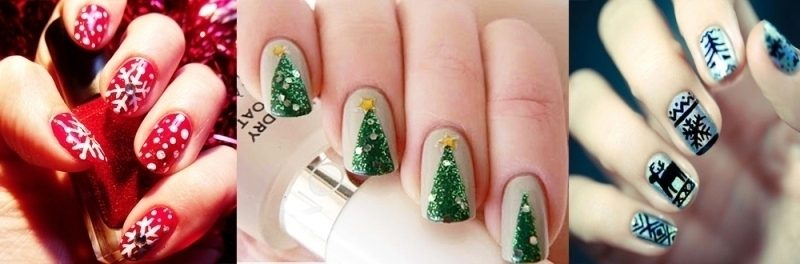 Christmas-Nail-Art-Design-Ideas-2017-81 88 Awesome Christmas Nail Art Design Ideas 2017