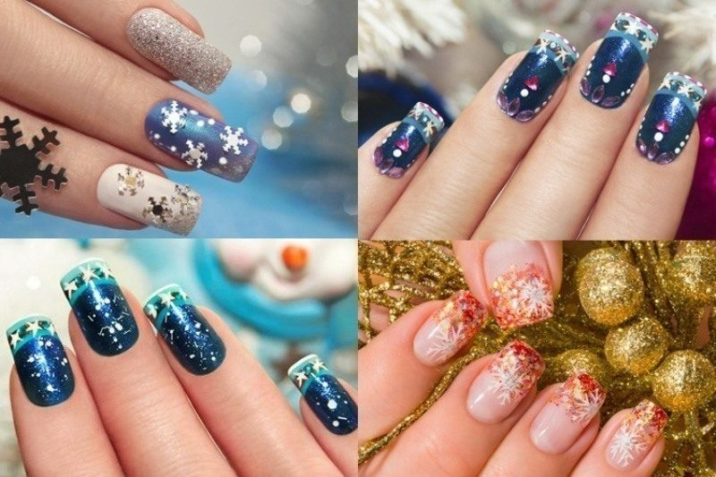 Christmas-Nail-Art-Design-Ideas-2017-85 88 Awesome Christmas Nail Art Design Ideas 2018/2019