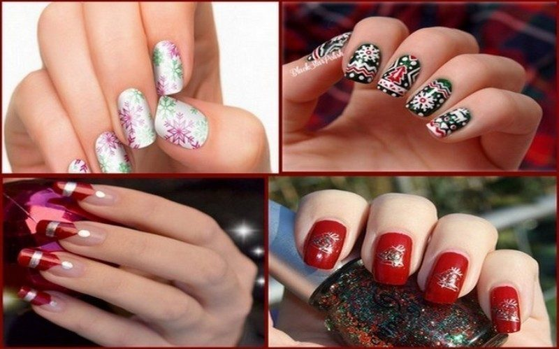 Christmas-Nail-Art-Design-Ideas-2017-86 88 Awesome Christmas Nail Art Design Ideas 2017