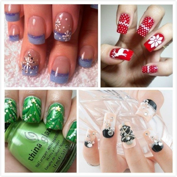 Christmas-Nail-Art-Design-Ideas-2017-87 88 Awesome Christmas Nail Art Design Ideas 2017