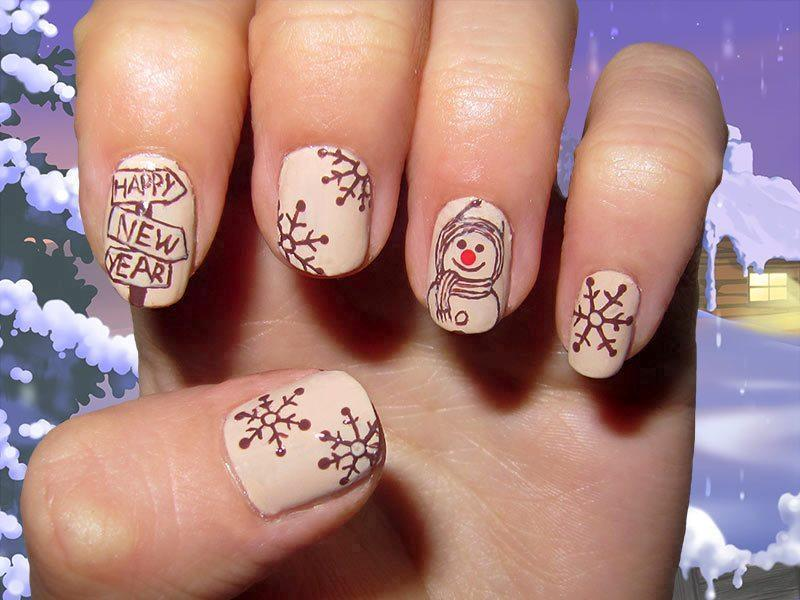 Christmas-Nail-Art-Design-Ideas-2017 88 Awesome Christmas Nail Art Design Ideas 2017