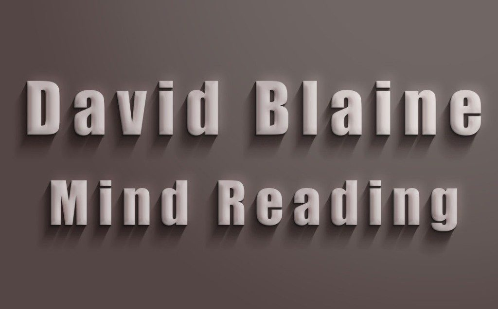 David-Blaine-Mind-Reading-Card-Trick 3 Tips to Help You Avoid Bankruptcy