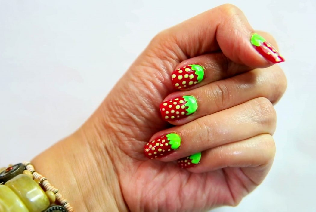 Give-Yourself-a-Manicure-Step-20 50+ Coolest Wedding Nail Design Ideas