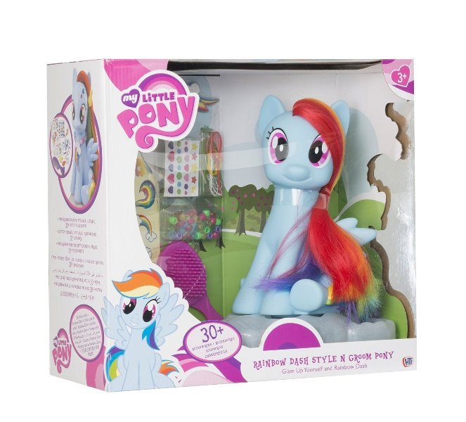 HTI-My-Little-Pony-Style-and-Groom-Pony 20 Must Have Christmas Toys for Children 2017
