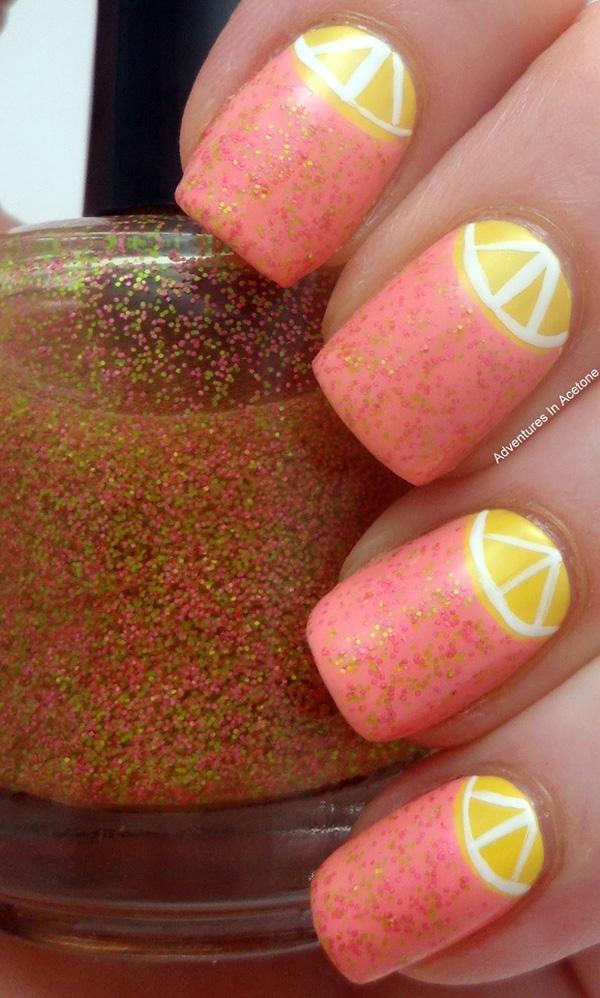 Half-Moon-Nail-Art-35 50+ Coolest Wedding Nail Design Ideas