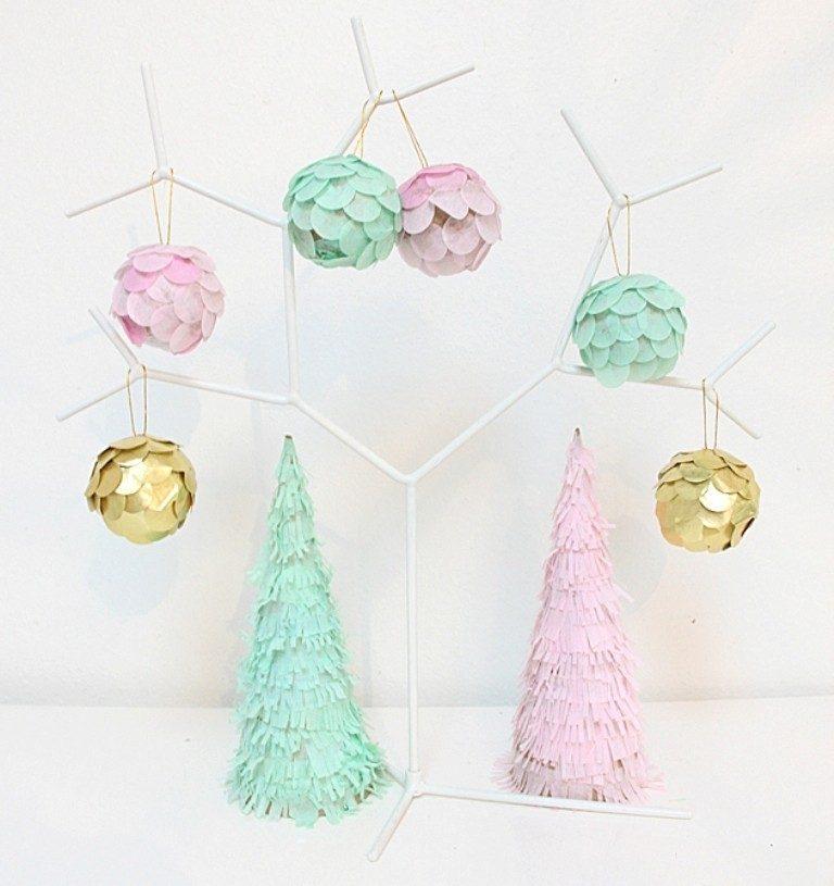 Handmade-Christmas-Decoration-Ideas-2017-26 67 Adorable Handmade Christmas Decoration Ideas 2018-2019