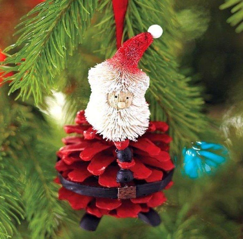 Handmade-Christmas-Decoration-Ideas-2017-35 67 Adorable Handmade Christmas Decoration Ideas 2018-2019