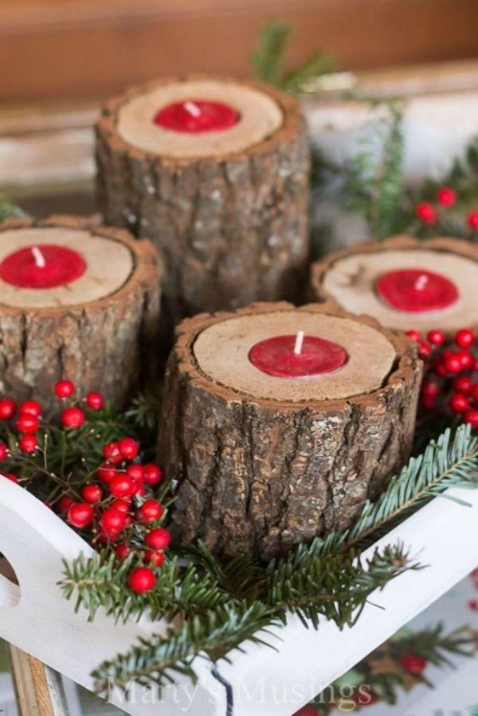 Handmade-Christmas-Decoration-Ideas-2017-45 67 Adorable Handmade Christmas Decoration Ideas 2018-2019