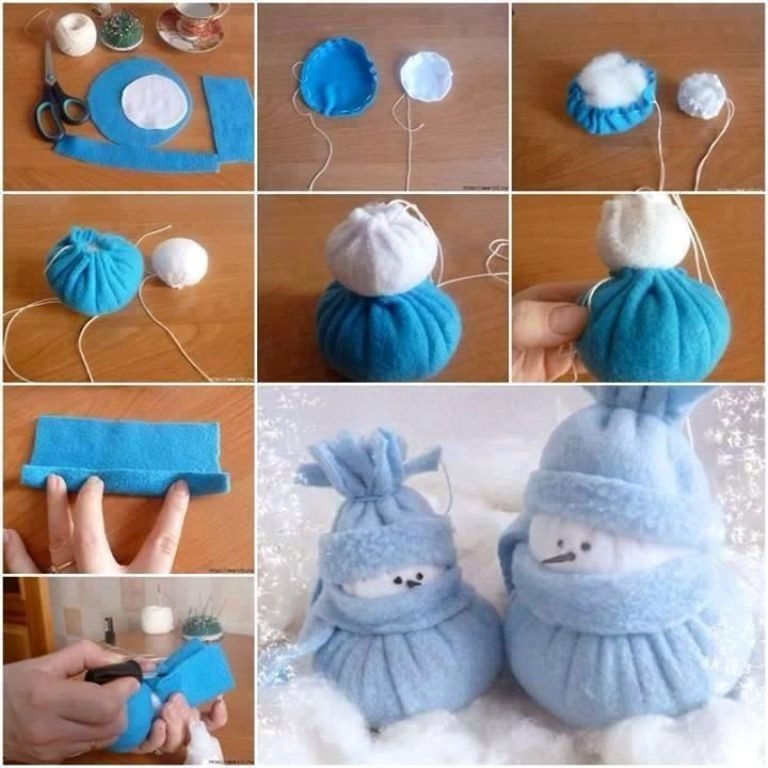 Handmade-Christmas-Decoration-Ideas-2017-49 67 Adorable Handmade Christmas Decoration Ideas 2020