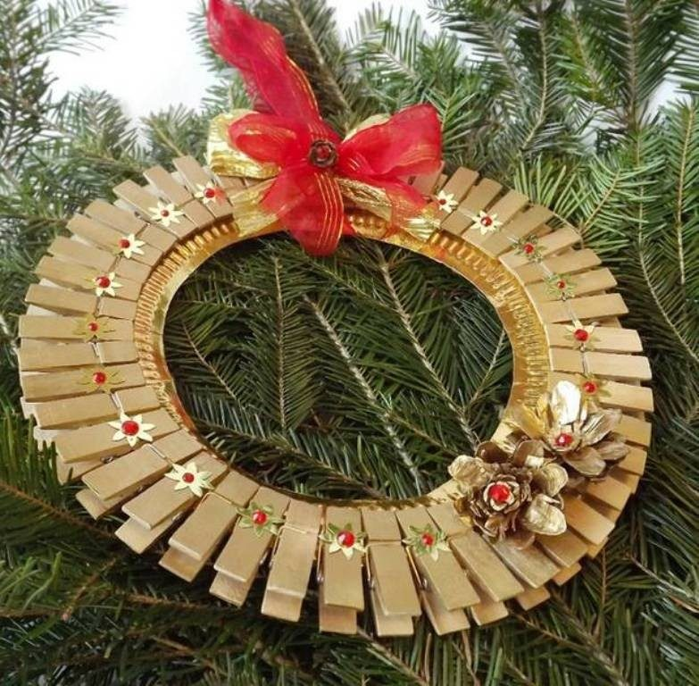 Handmade-Christmas-Decoration-Ideas-2017-54 67 Adorable Handmade Christmas Decoration Ideas 2018-2019