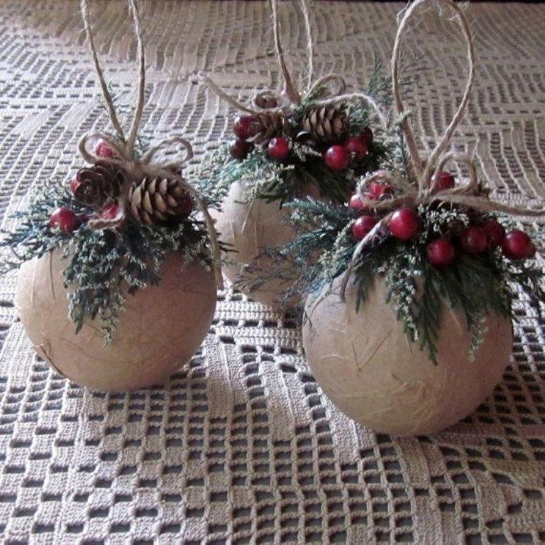 Handmade-Christmas-Decoration-Ideas-2017-58 67 Adorable Handmade Christmas Decoration Ideas 2018-2019