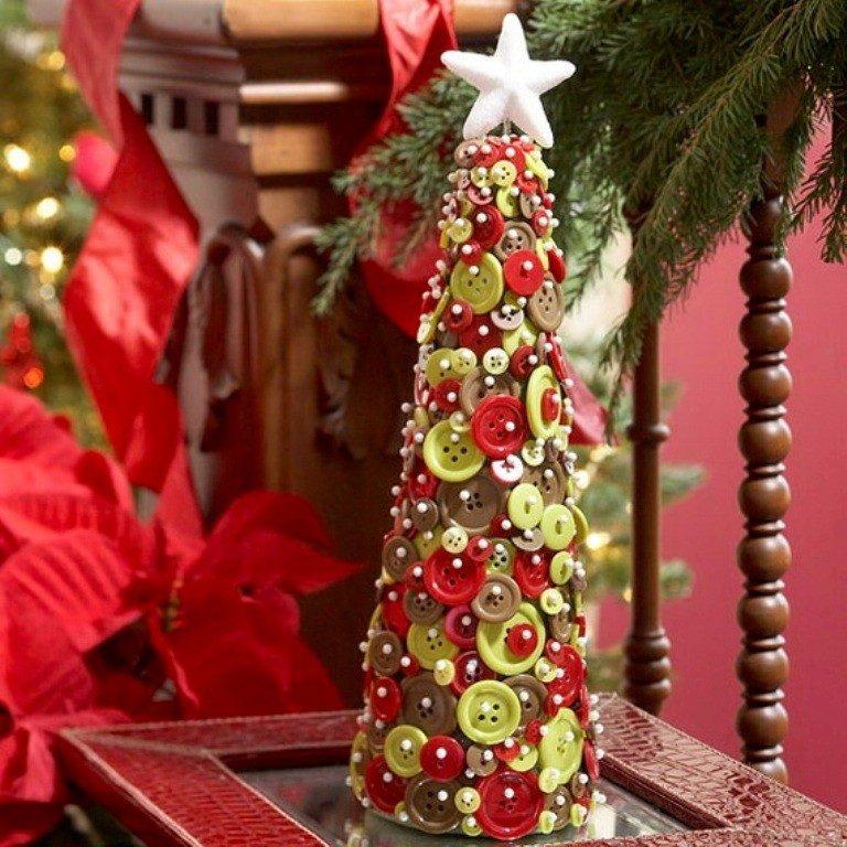 Handmade-Christmas-Decoration-Ideas-2017-61 67 Adorable Handmade Christmas Decoration Ideas 2018-2019