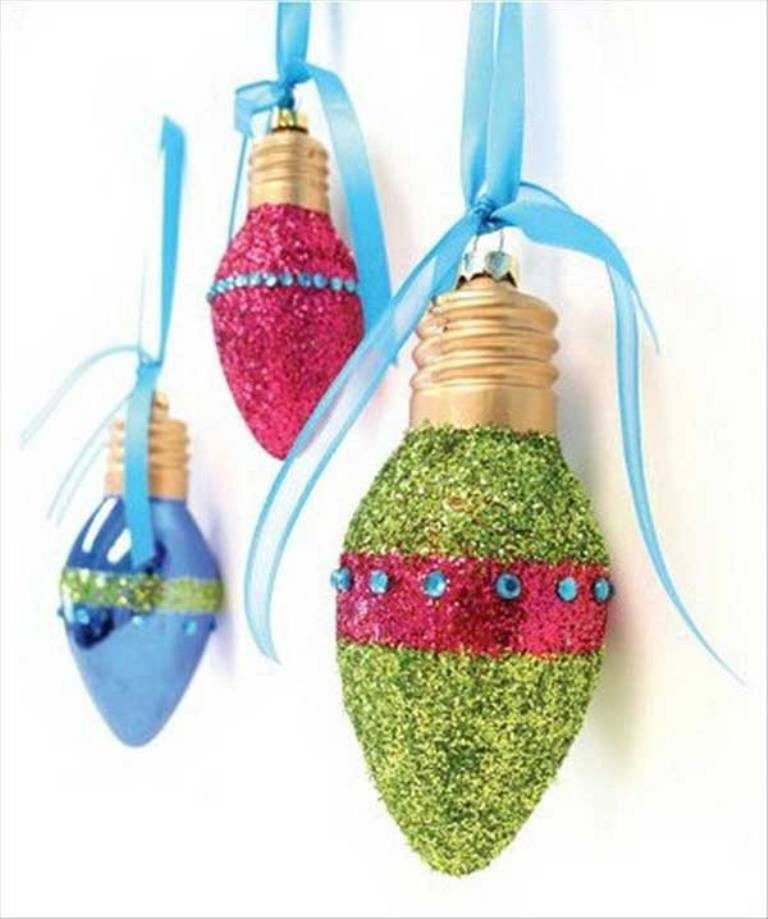 Handmade-Christmas-Decoration-Ideas-2017-65 67 Adorable Handmade Christmas Decoration Ideas 2018-2019