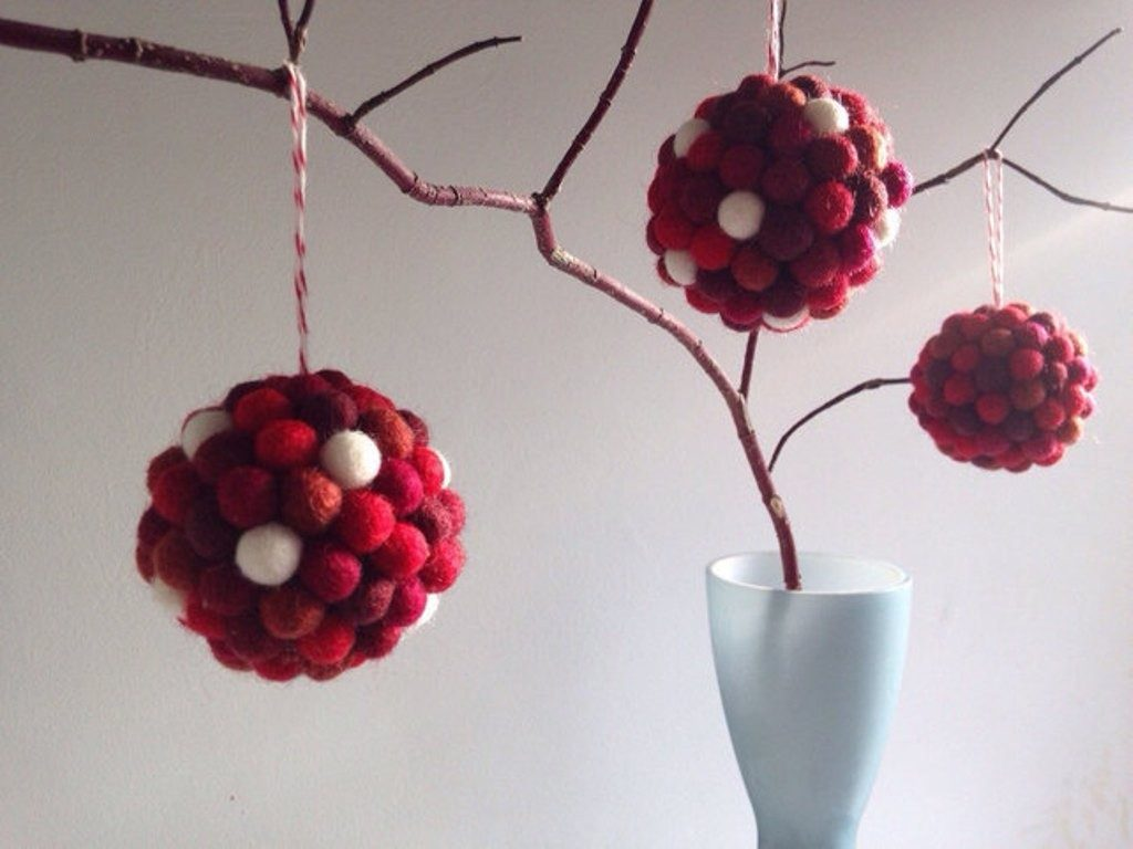 Handmade-Christmas-Decoration-Ideas-2017-9 67 Adorable Handmade Christmas Decoration Ideas 2018-2019