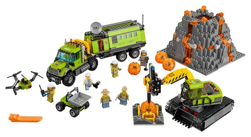 LEGO-City-Volcano-1 20+ Must Have Christmas Toys for Children in 2020