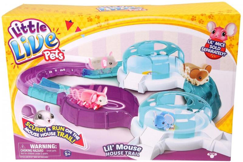 Little-Live-Pets-Mouse-House-trail 20 Must Have Christmas Toys for Children 2017