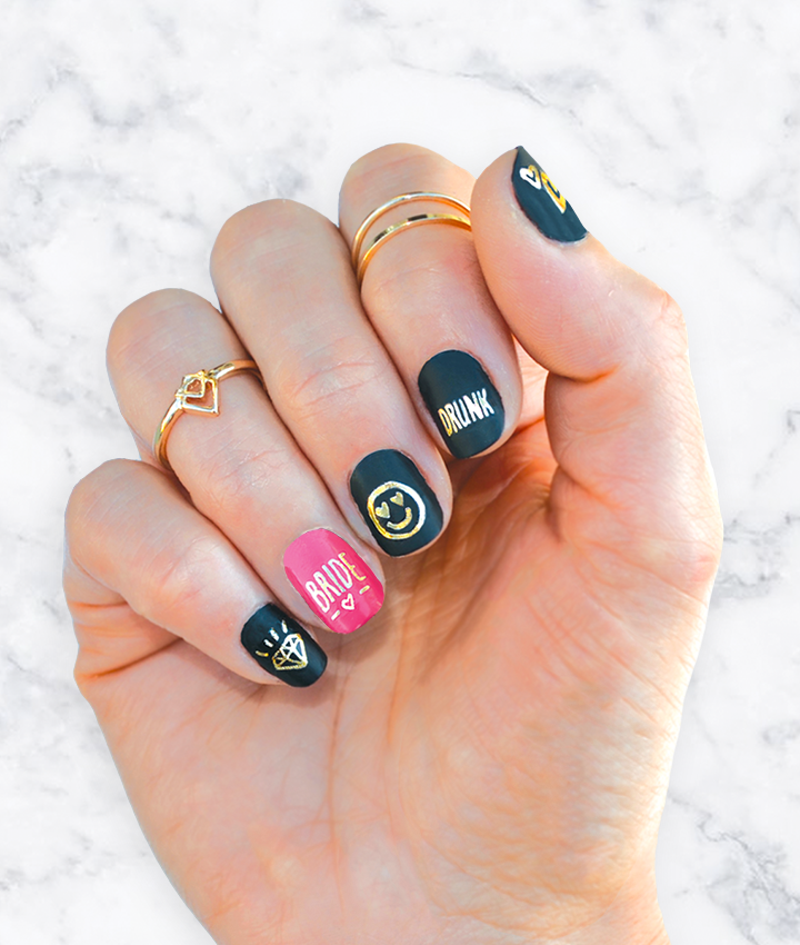 NAIL_TATTOOS 50+ Coolest Wedding Nail Design Ideas