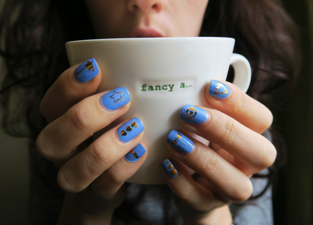 Nails-Inc-Flash-pack-nail-tattoos-r35 50+ Coolest Wedding Nail Design Ideas