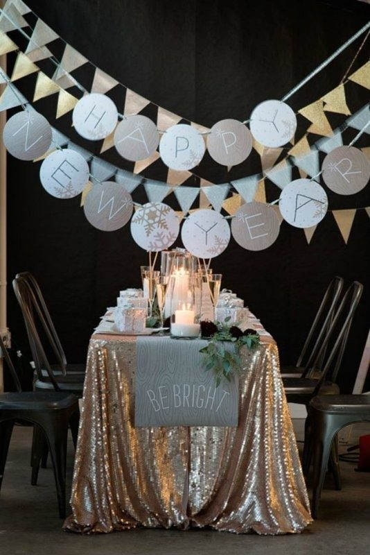 New-Years-Eve-2017-Decorating-Ideas-12 84+ Awesome New Year's Eve 2018 Decorating Ideas