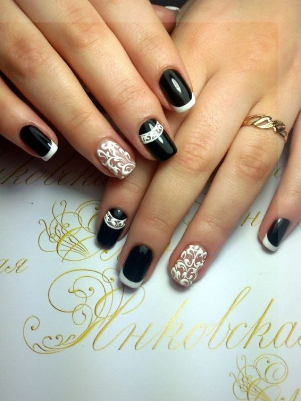 New-Years-Eve-Nail-Art-Design-Ideas-2017-15 89+ Astonishing New Year's Eve Nail Design Ideas for Winter 2020