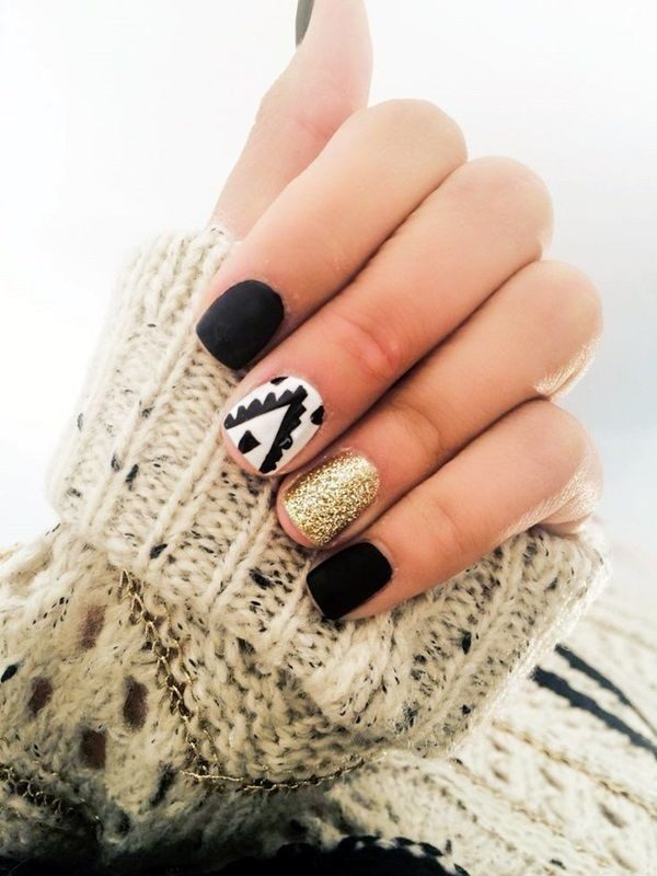 New-Years-Eve-Nail-Art-Design-Ideas-2017-18 89+ Astonishing New Year's Eve Nail Design Ideas for Winter 2020