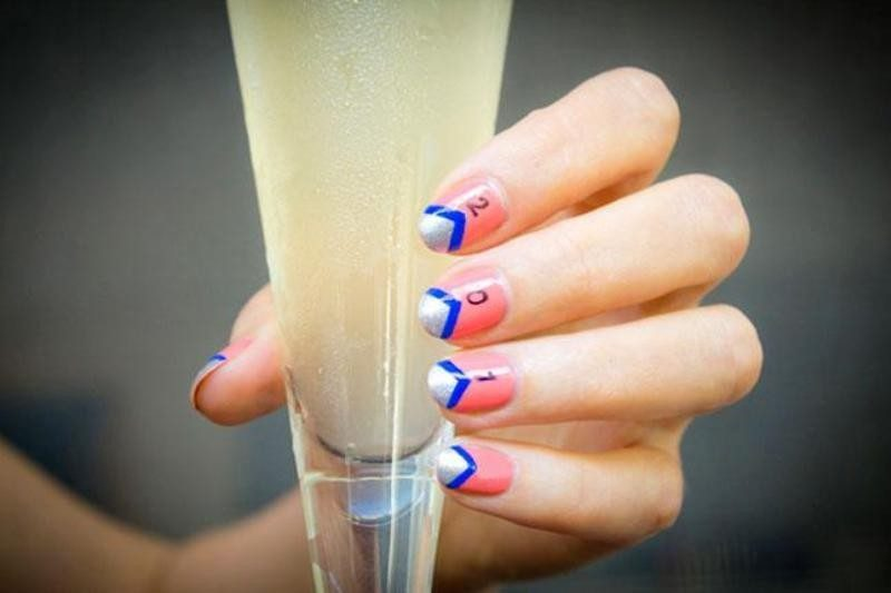 New-Years-Eve-Nail-Art-Design-Ideas-2017-19 89+ Astonishing New Year's Eve Nail Design Ideas for Winter 2020