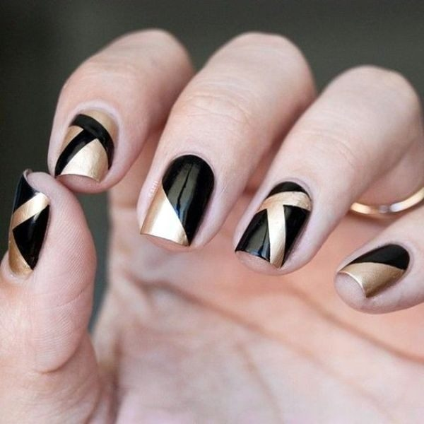 New-Years-Eve-Nail-Art-Design-Ideas-2017-21 89 Astonishing New Year's Eve Nail Design Ideas for Winter 2019