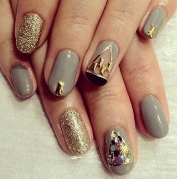 New-Years-Eve-Nail-Art-Design-Ideas-2017-23 89+ Astonishing New Year's Eve Nail Design Ideas for Winter 2020