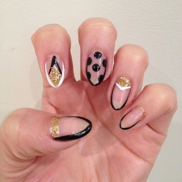 New-Years-Eve-Nail-Art-Design-Ideas-2017-25 89+ Astonishing New Year's Eve Nail Design Ideas for Winter 2020